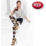Фигурален дамски чорапогащник в рае