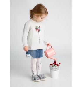 Детски чорапогащник с коте