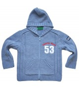 Синя жилетка за момче 92-152см.