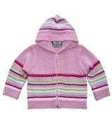 Розова бебешка жилетка
