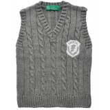Пуловер за момче в сиво