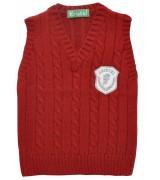 Червен пуловер за момче