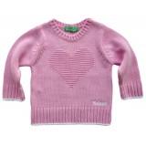 Плетена блуза за момиче
