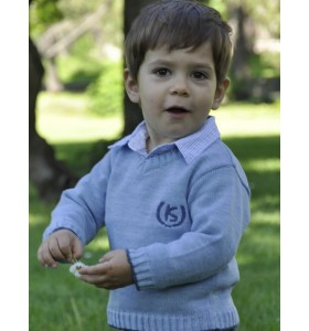 Пуловер за момче дълъг ръкав от 1г. до 12г.