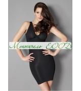 Стягаща и оформяща рокля с презрамки