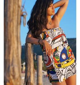 Рокля, парео и плажна кърпа Bunga Hippie