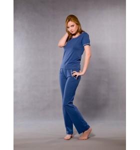 Дамска памучна пижама, в два различни цвята