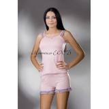 Лятна пижама с къси панталонки
