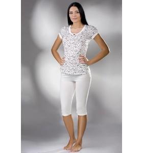 Дамска пижама с клин и тениска