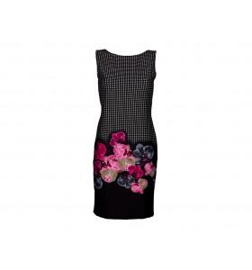 Дамска ежедневна рокля орхидеи