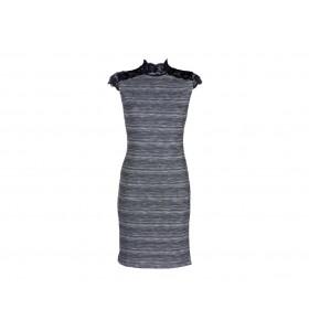 Дамска ежедневна рокля с дантела