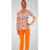 Дамска памучна пижама